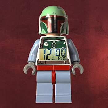 LEGO Star Wars Boba Fett Wecker