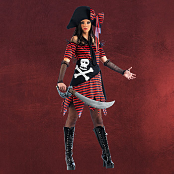 Piratin Kostüm Catherine Harvey