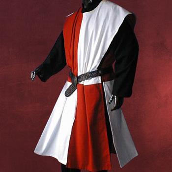 Waffenrock rot-weiß