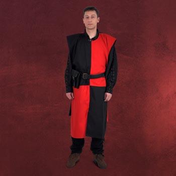 Waffenrock schwarz-rot