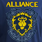 World of Warcraft Allianz Crest Version 3 T-Shirt