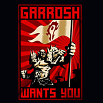 World of Warcraft Garrosh Wants You Girlie Shirt