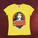 Wonder Woman - Stars Girlie Shirt