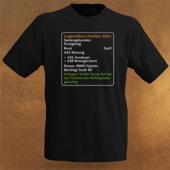 Level-85-Item: Legendäres Helden-Shirt