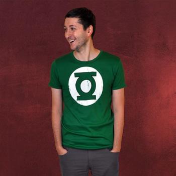 Green Lantern Logo T-Shirt - dunkel
