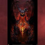 World of Warcraft Deathwing Poster