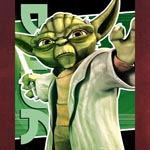 Star Wars The Clone Wars Yoda Poster