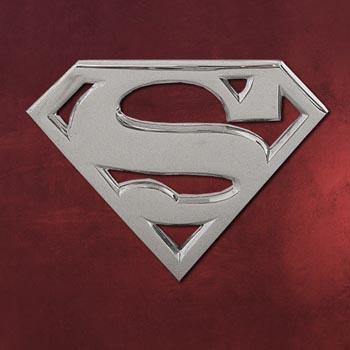 Superman G�rtelschnalle silber