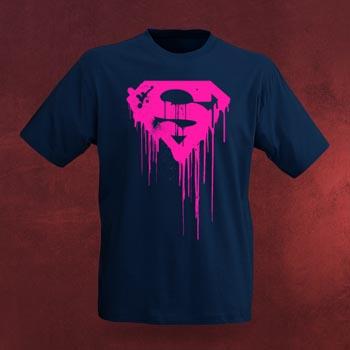 Superman Dripping Logo T-Shirt
