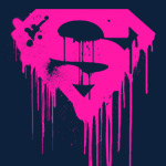 Superman Dripping Logo T-Shirt