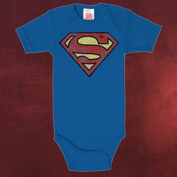 Superman Logo Baby Body