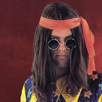Hippie Per�cke braun