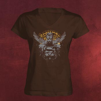 Superman Tribal Girlie Shirt