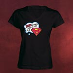 Job for Superman Girlie Shirt