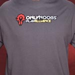 World of Warcraft Only Noobs Play Alliance T-Shirt
