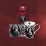 Anne Stokes Tasse Angel Rose
