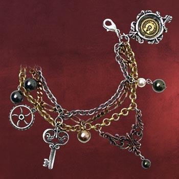 Steampunk Armband Mrs Hudsons Cellar Keys
