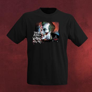 Joker Plenty Wrong - Arkham City T-Shirt