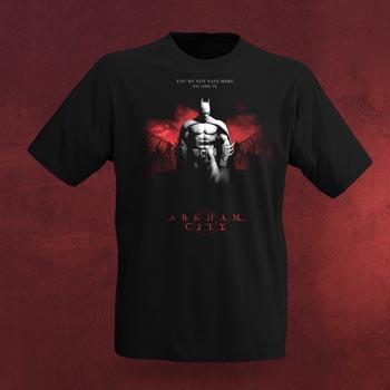 Batman Arkham City T-Shirt - Red Sky