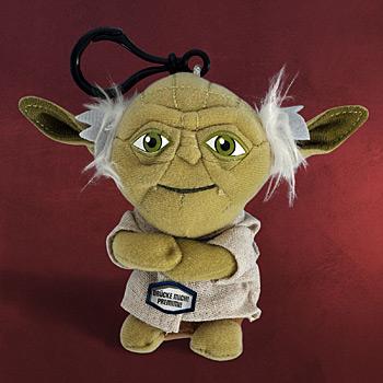 Star Wars Yoda Plüsch - Sprechender Schlüsselanhänger