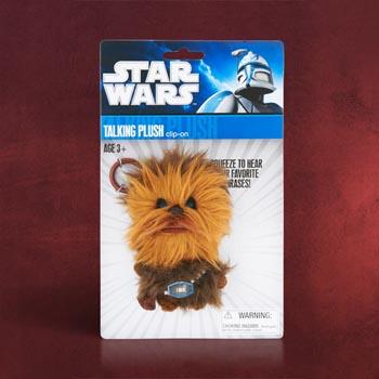 Star Wars Chewbacca Plüsch - Sprechender Schlüsselanhänger