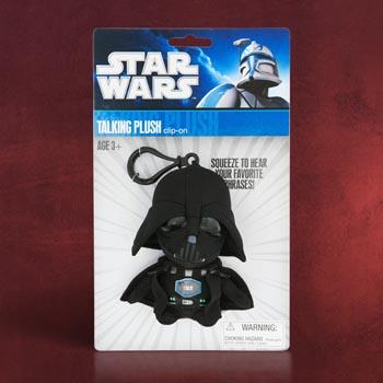 Star Wars Darth Vader Plüsch - Sprechender Schlüsselanhänger