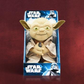 Star Wars - Meister Yoda Sprechende Pl�schfigur