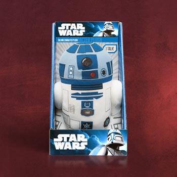 Star Wars - R2-D2 Sprechende Plüschfigur