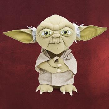 Star Wars - Meister Yoda Plüschfigur 35 cm