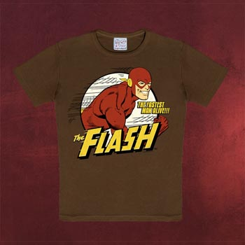 DC - Flash The Fastest Man alive - Kinder Shirt
