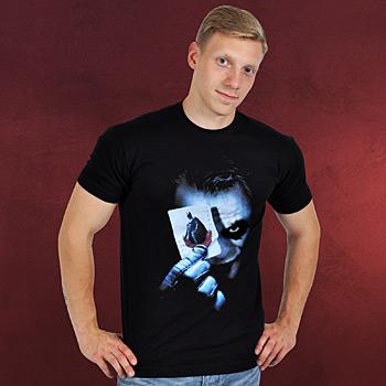 Batman The Dark Knight Joker Karte T-Shirt