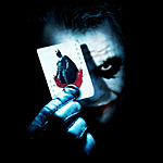 Batman The Dark Knight Joker Karte T-Shirt