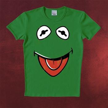 Muppets Faces Kermit T-Shirt gr�n