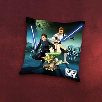 Star Wars Clone Wars Charakter Dekokissen