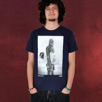 Star Wars Wookiee Surfer T-Shirt