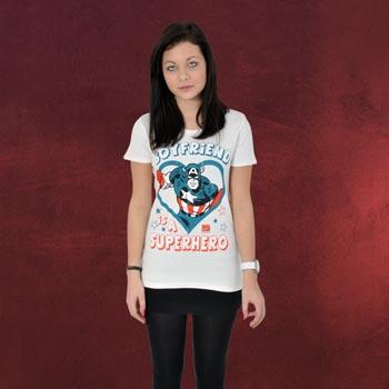 Marvel - My Boyfriend is a Superhero T-Shirt