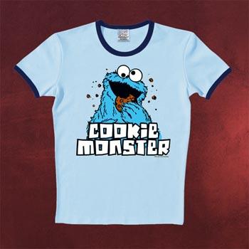 Sesamstra�e - Cookie Monster T-Shirt