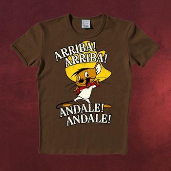 Looney Tunes - Speedy Gonzales T-Shirt braun