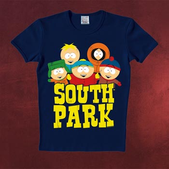 South Park - Five Friends T-Shirt