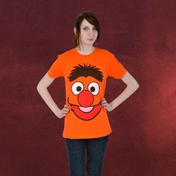 Sesamstra�e - Ernie Grinse T-Shirt