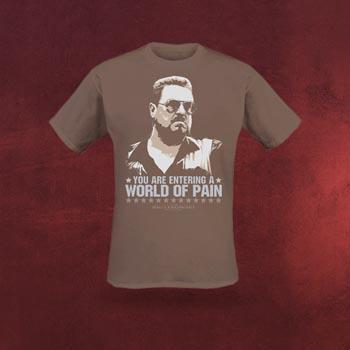 The Big Lebowski - World of Pain T-Shirt