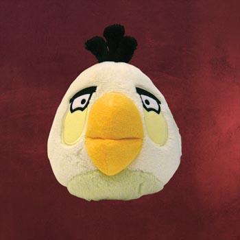 Angry Birds Plüschfigur mit Sound weiß