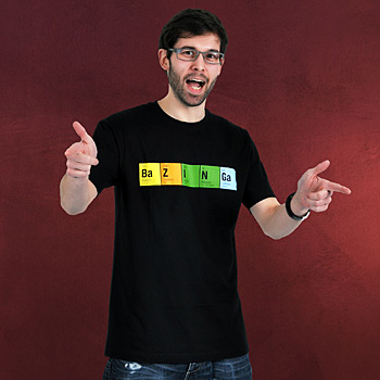 The Big Bang Theory - Periodic Bazinga Fan T-Shirt