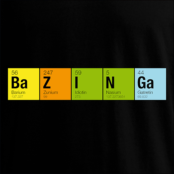 bang theory bazinga periodic bjzzim