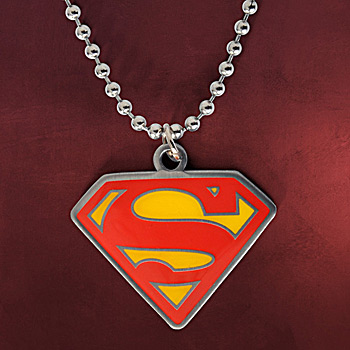 Superman Logo Kette