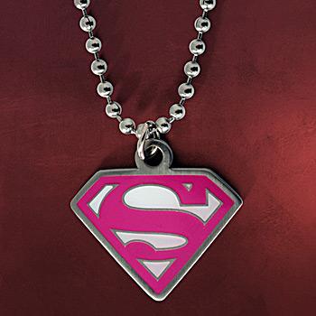 Supergirl Logo Kette