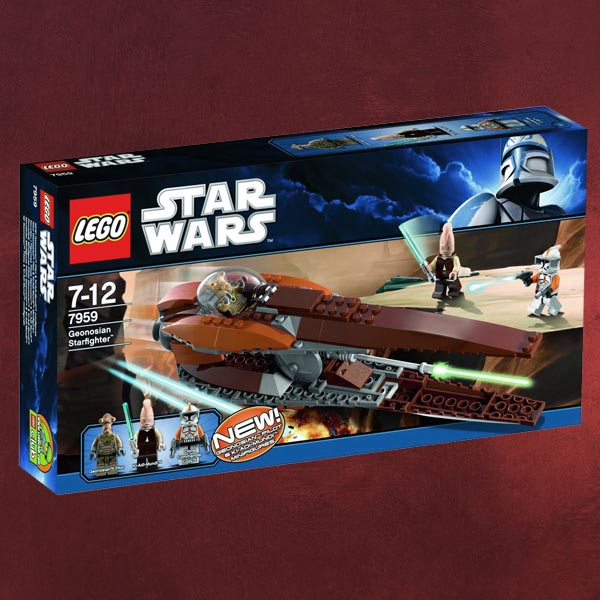 lego star wars bausatz 7959 geonosian starfighter mit 3 minifiguren spielzeug. Black Bedroom Furniture Sets. Home Design Ideas