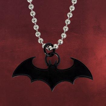 Batman - Fledermaus Anh�nger schwarz inkl. Kette