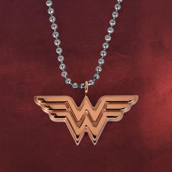 Wonder Woman Logo Anh�nger inkl. Kette
