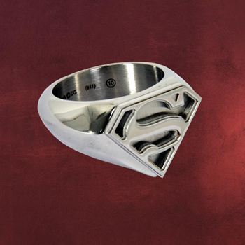 Superman Emblem Ring